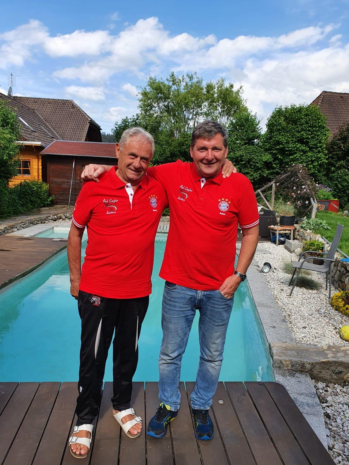 Alois Strauch und Heinz Moser (Beiräte)